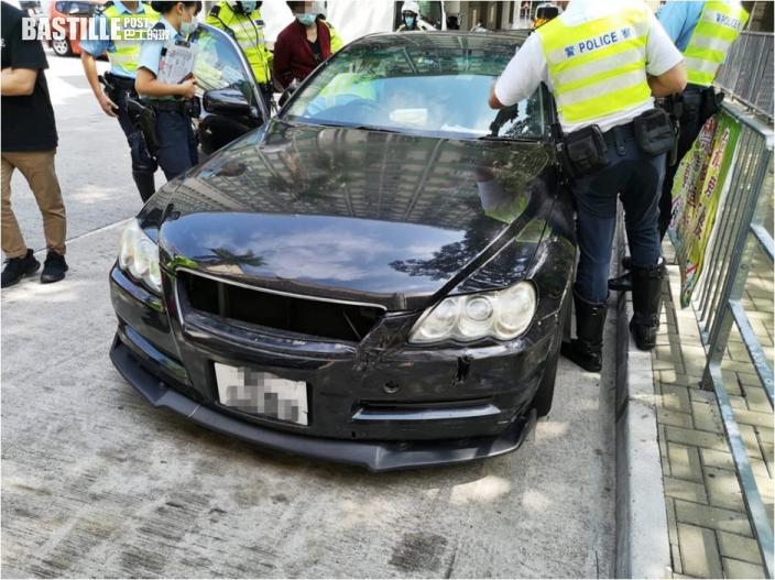 涉偽造行車證 35歲男司機荃灣被捕