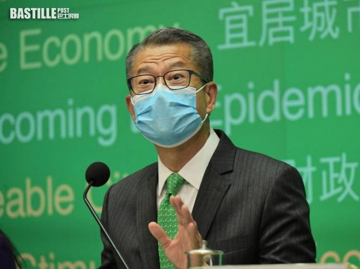 陳茂波避答是否愛黨 稱個人尊重及擁護憲法及《基本法》