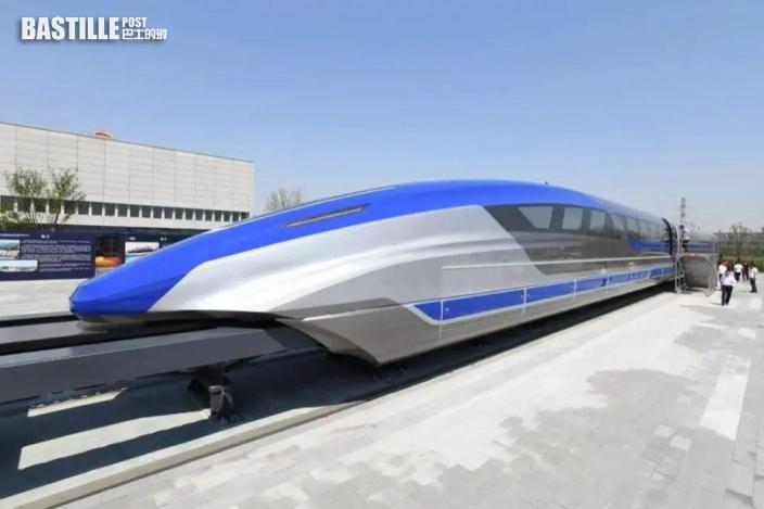 廣東擬建磁懸浮鐵路 廣州東站20分鐘直達香港西九龍站
