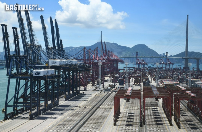 港1月出口貨值按年大增44%