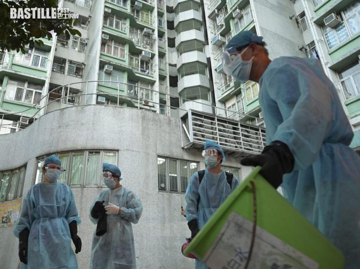 居樂富邨確診男工程人員源頭不明 11座大廈強制檢測