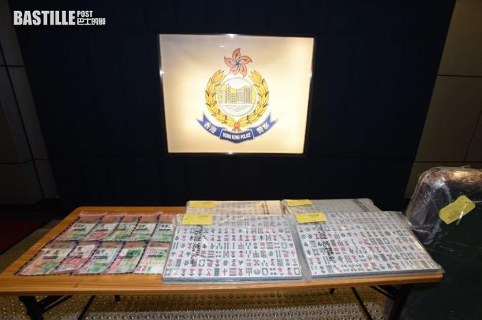 警方唐樓3個單位破非法賭場拘30人 發違限聚令告票