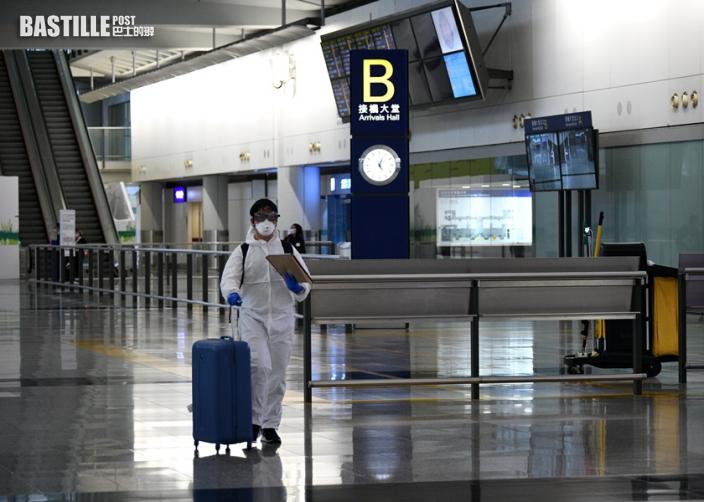 政府維持「極高風險」四國旅客禁登機來港 其他地區人士檢疫21日