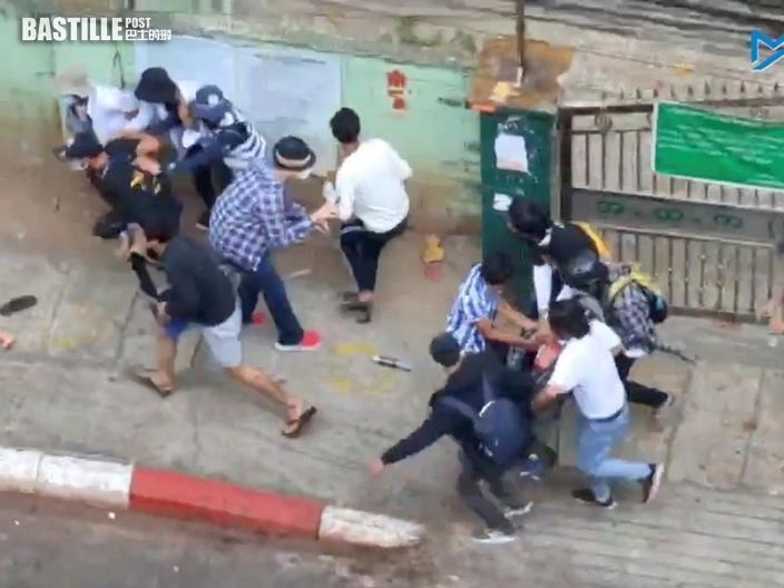 緬甸抗議持續傳軍警開槍 示威者1死逾10傷