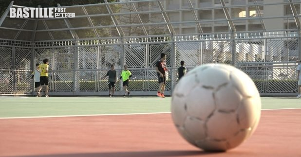 據了解,新一份財政預算案將建議提升現有足球場施設。(關銘輝攝)