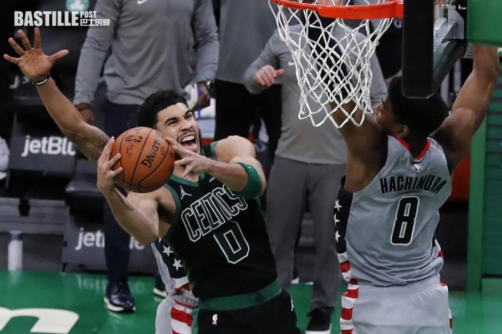 【NBA】泰頓五十秒內連入六分 領塞爾特人反勝巫師
