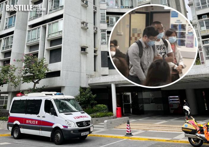 麗港城9歲男童意外從氣窗墮斃 親友認屍神情哀傷