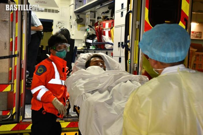 新蒲崗男子手腳被斬受傷 送院治療