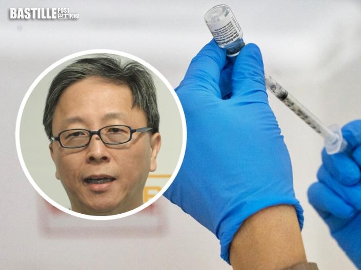 何栢良指已幫家人登記接種復必泰疫苗 認為安全高效