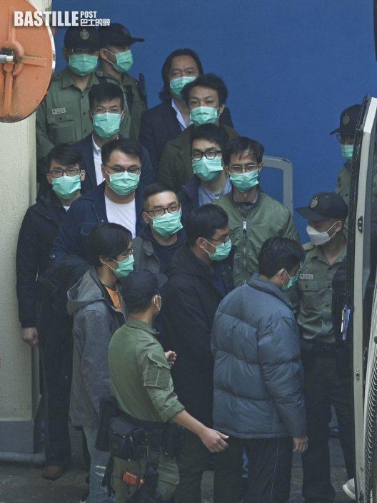 【大拘捕】梁家傑庭上稱不再代表多人 楊岳橋退出公民黨