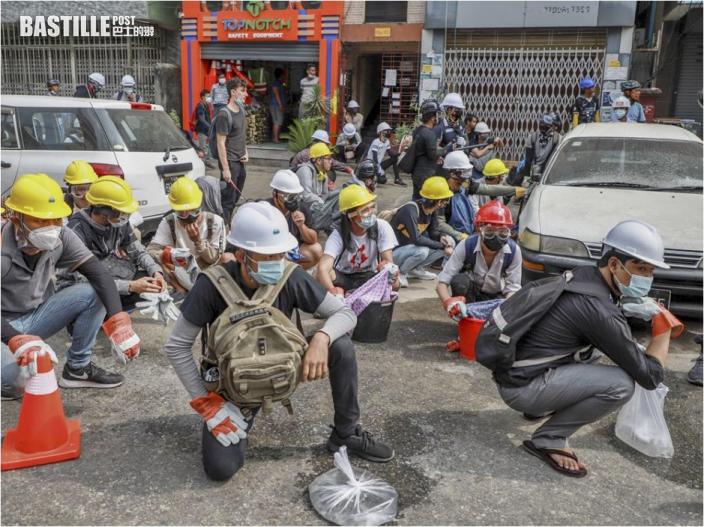 據報緬甸軍警昨日實彈鎮壓示威至少38死 聯合國特使:最血腥的一日