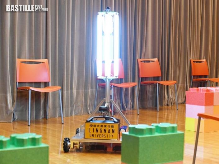 嶺大研智能紫外光消毒機械人 可測繪清潔路線