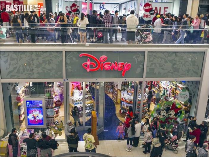 專注拓展網購業務 迪士尼宣布關閉北美60間門市