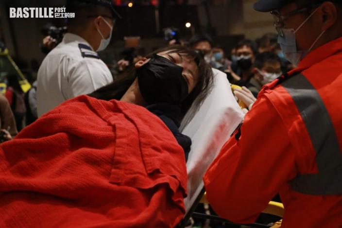 【大拘捕】被告林景楠、劉澤鋒送院 女子情緒激動不適