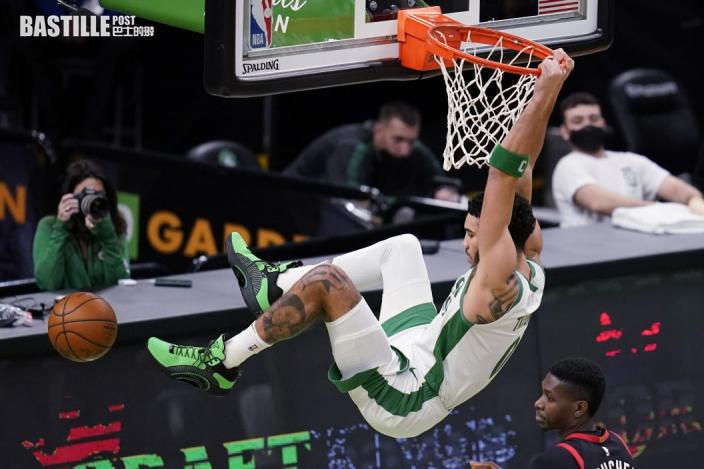 【NBA】泰頓廿七分雙雙 綠軍挫速龍四連勝