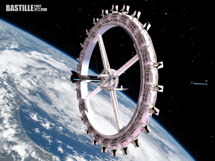 90分鐘繞地球一圈 世界首家太空酒店最快2027年營運