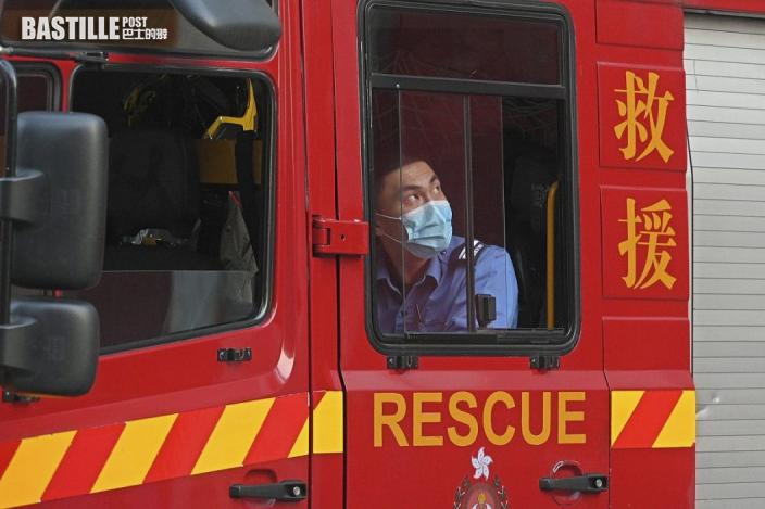 消防處去年處理7557宗新冠個案召喚 火警減10%