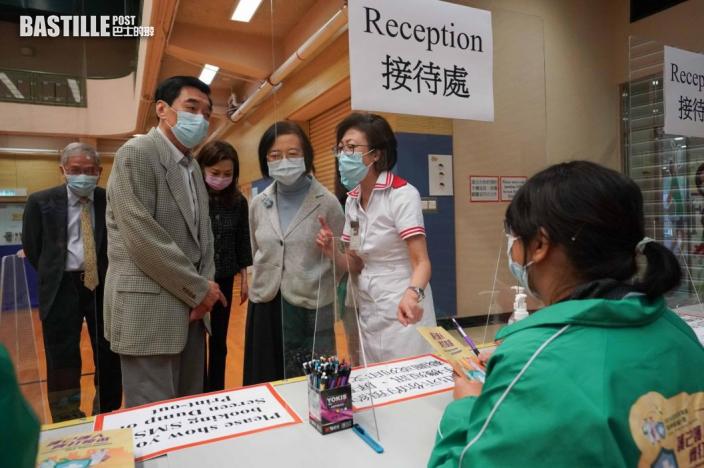 政府研擴大打針群組 陳肇始籲市民信科學盡早接種疫苗