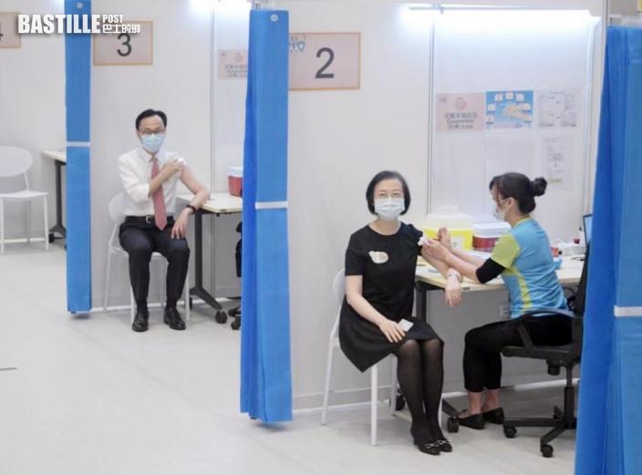 聶德權:需提高疫苗接種率及速度 讓市民可以外遊