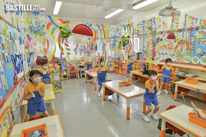 逾1400間學校申全校恢復半天面授課堂 幼稚園佔750間