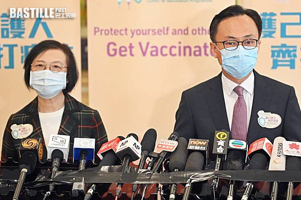 聶德權陳肇始下午2時半見傳媒 料交代疫苗接種計劃事宜
