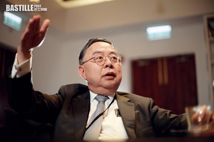 陳啟宗料北京不再支持無能領導者 慨嘆經濟黯淡港人自毀前途