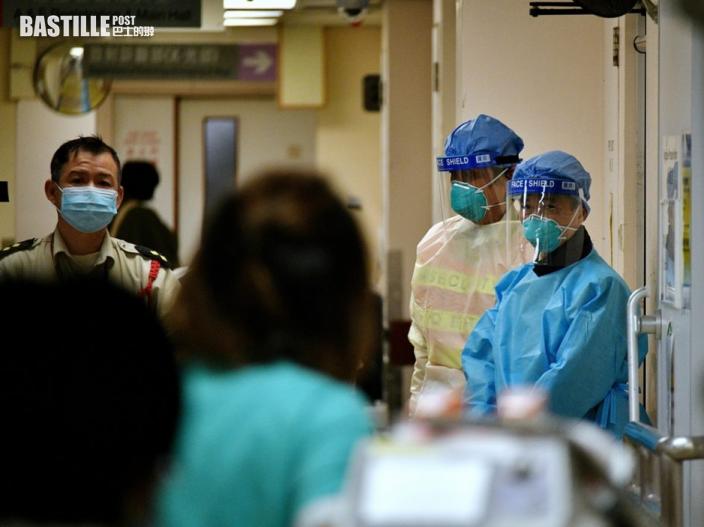 醫管局:10名確診病人情況危殆 30名病人康復出院