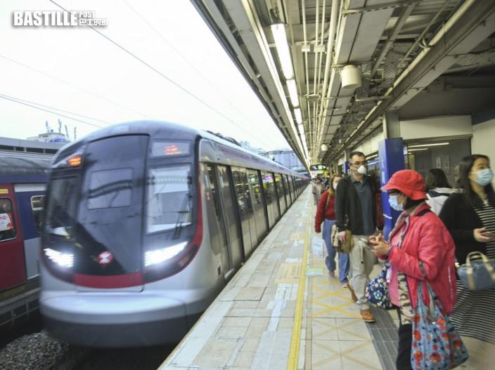 運房局:港鐵票價調整機制公開、客觀且具透明度
