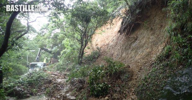 政府去年共接獲214宗山泥傾瀉事故報告。(土力工程處提供)
