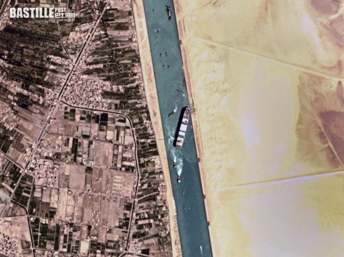 蘇彝士運河最後一批受阻船隻將通過 料兩日後公布意外調查結果