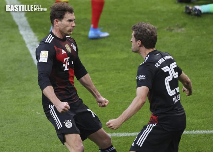 【德甲】拜仁一球小勝RB萊比錫 拿格斯文舉手投降