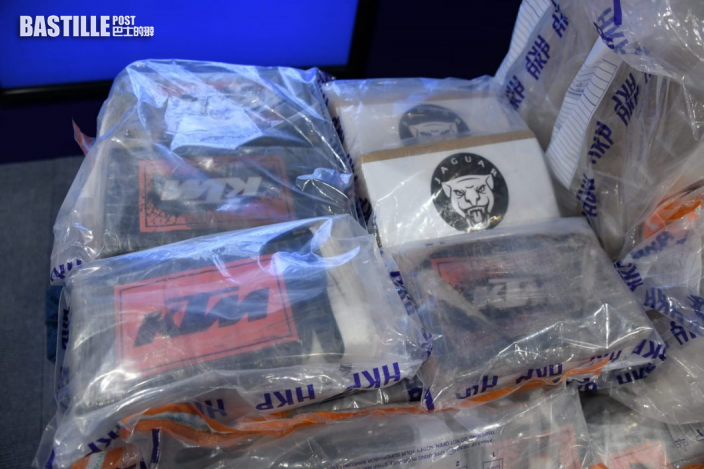 【10億大毒案】警沙田檢706公斤可卡因 部分附李小龍肖像拘兩男