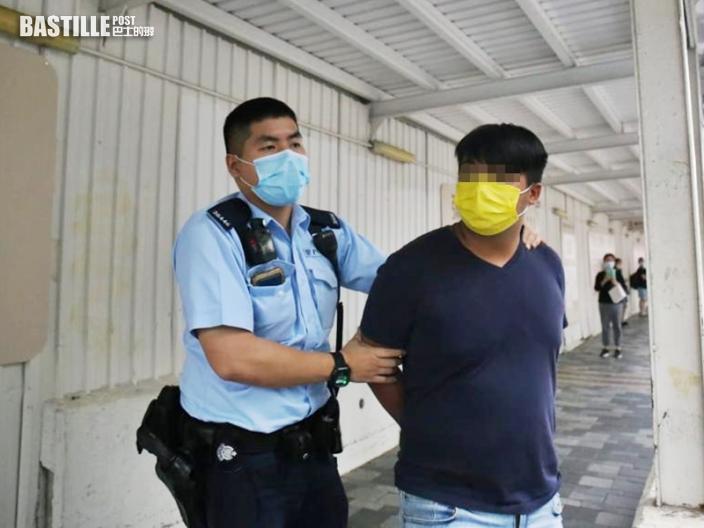 尖沙嘴鐘錶店險遭爆竊 4男斷正被捕