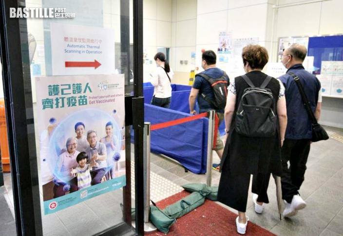 7萬人完成2劑疫苗 多4人送院62歲男現高血壓和口齒不清