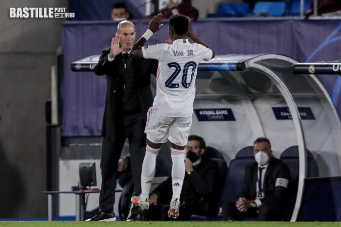 【歐聯】雲尼斯奧梅開二度 皇馬八強首回合3:1破利物浦