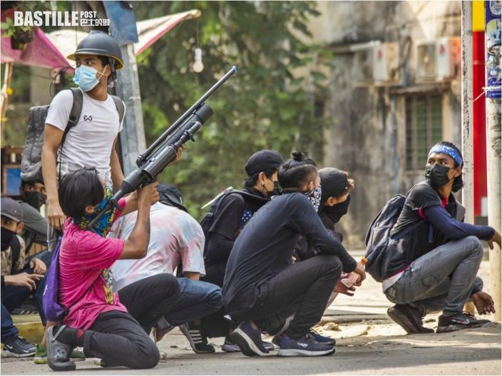 緬甸至少7名示威者遭射殺 仰光中資工廠疑遭縱火