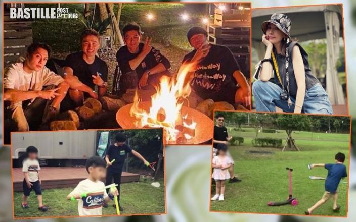【天王夏令營】周杰倫帶隊戶外露營 林志穎率家眷野外渡假享家庭樂