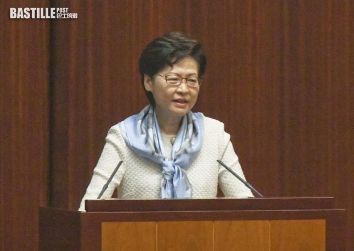 【完善選舉制度】林鄭月娥:選舉修例草案下周三交立會首讀