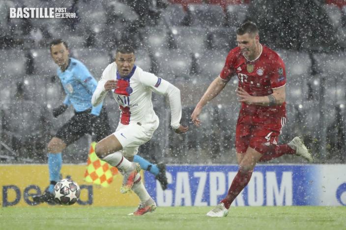 【歐聯】PSG首次作客贏拜仁 麥巴比歸功於隊友