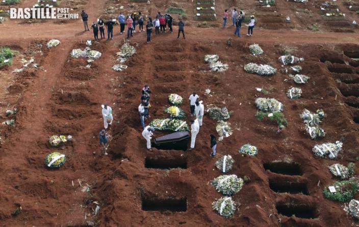 巴西疫情惡化加速清理舊墳 讓位新冠病毒亡者