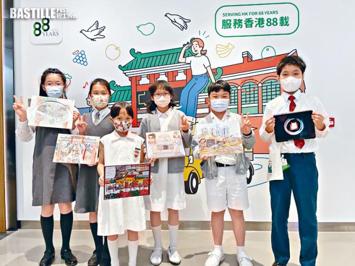 小學生製AR動畫 宣揚傷健共融獲獎