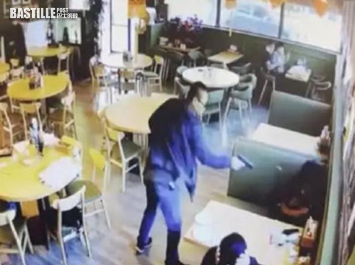 美國亞裔男女餐廳遭槍殺 槍手是女死者丈夫冷靜行兇