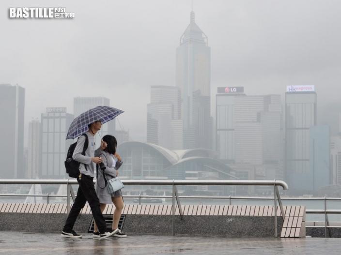 周末短暫時間有陽光 下周二起有雨最高氣溫升至30度