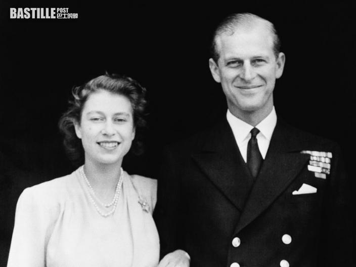 菲臘親王與英女皇廝守73年 14歲就牽手至今逾半世紀