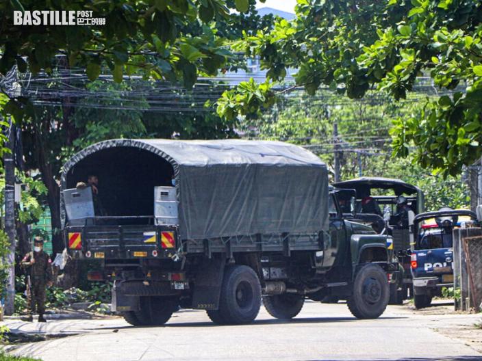 緬甸軍方指近期示威減少 兩年內將重新舉行大選