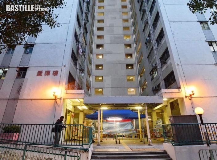愛暉樓累計6人染疫 工作人員助10、31及32室住戶撤離