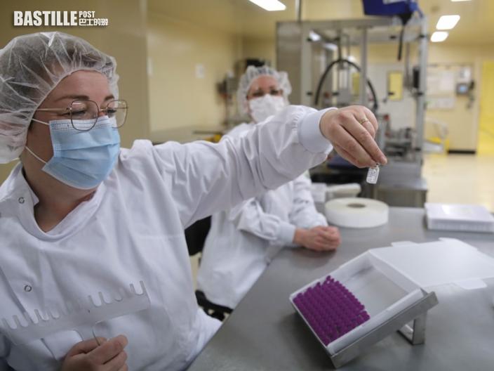 法國破500萬宗確診 逾1千萬人已接種首劑疫苗