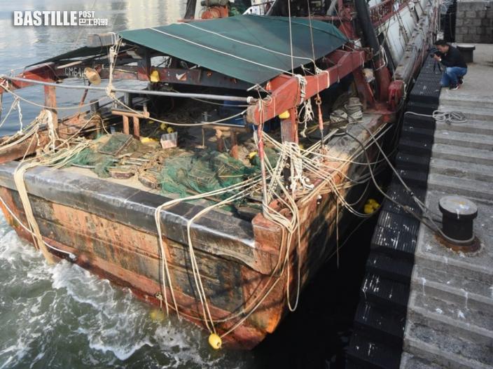 涉於屯門爛角咀非法捕魚 兩內地漁民被判監四星期