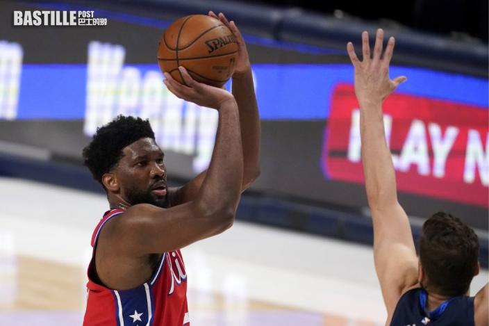 【NBA】安比廿六分鐘轟三十六分 領76人大勝獨行俠十八分