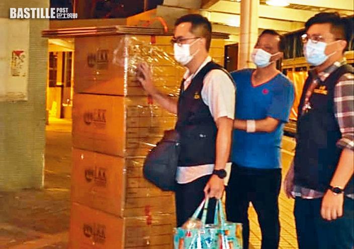 八人涉售「暴動物資」被捕 當局搜樓上鋪起防毒面具等